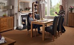 High Quality Oak Furniture in the UK from Good Home Online.