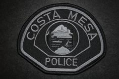 Costa Mesa Police Patch - SWAT Team Subdued, Orange County, California (Current 2006 Issue)