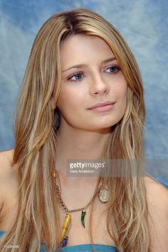 Mischa Barton during 'The O.C.' Press Conference with Mischa Barton, Rachel Bilson, Adam Brody, Ben McKenzie, Peter Gallagher, Kelly Rowan and Melinda Clarke at Four Seasons in Beverly Hills, California, United States.