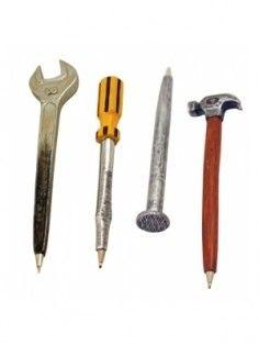 Hand Tool Pens – Set Of 4 www.mygiftfinder.net