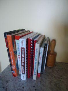 Cookbook collection of Mercedes DiRenzo-Bolduc