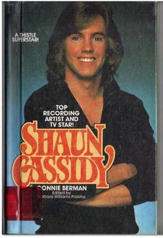 1970 Shaun Cassidy. $5.99, via Etsy. I have this.