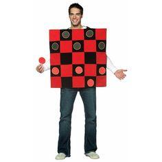 Adult Checker Board Costume