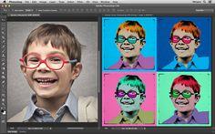 Veja como transformar uma foto numa Art Pop estilo Andy Warhol no Site Metapix.