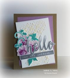 Hi everyone!     I made a few cards a couple of days ago using some Altenew stamp sets. I intend to participate in the ongoing Altenew c...
