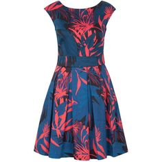 Closet Palm Print Tie Back Dress, Multi and other apparel, accessories and trends. Browse and shop related looks.