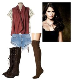 """""""Malia Tate inspired outfit"""" by maliahennig ❤ liked on Polyvore featuring Free People, Monki, Miilla, One Teaspoon and Breckelle's"""