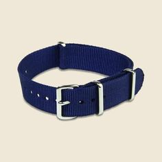 dba05d115b5 18mm Watch Band - Navy - MWC - STAG Provisions - Accessories - Watch Bands  Military