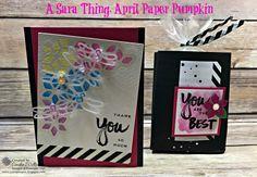 A Sara Thing, Paper Pumpkin Kit – Just Sponge It!