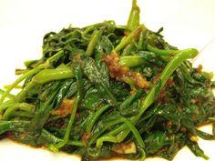 Belacan Kangkung - Jumbo Seafood @ East coast Singapore