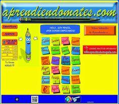 Página web para practicar on line ejercicios de matemáticas de todos los niveles a partir de E. Infantil