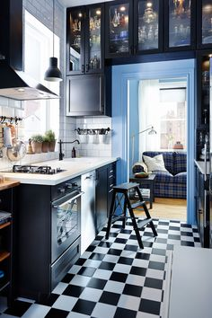 Smart storage makes the most of even the smallest kitchen spaces. View our Kitchen range here: http://bit.ly/IKEAAUkitchens