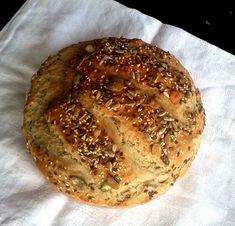 sokmagos, gyúrás nélküli Pate Recipes, Bread Recipes, Cooking Recipes, Healthy Recipes, Healthy Food, Baking And Pastry, Bread Baking, Hungarian Recipes, Diy Food