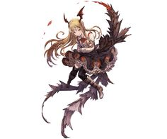 Tags: Official Art, PNG Conversion, Cover Image, Cygames, Granblue Fantasy, Vampy (Shingeki no Bahamut), Minaba Hideo
