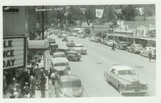 Downtown Guerneville, 1950's
