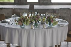 Main table flowers by APdeco