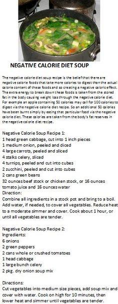 Zero calorie veggie soup - good for dieting