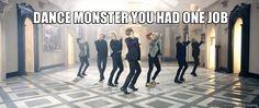 Dance Monster strikes again ~ I saw him ;P RapMon, you're close...ish