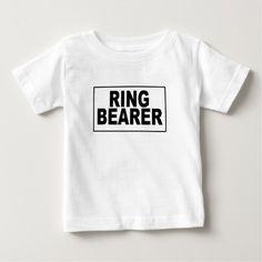 Ring Bearer Box.png Baby T-Shirt
