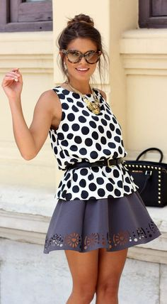 When In Doubt… Go Dots! by Seams For a Desire