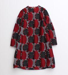 【予約販売】ざくろジャガード ドレス