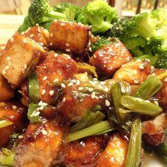 Vegan General Tsos Tofu [GF]