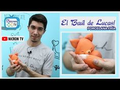 El baúl de Lucas | NICRON TV | Como hacer un zorro en porcelana fria | Paso a Paso gratuito - YouTube