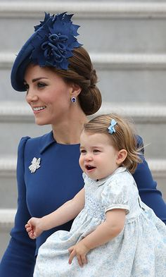 Kate dazzles in blue and gives a sartorial nod to Canada as she arrives for royal tour - Royal Tours - HELLO! Canada