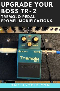 Click here to listen to the original Boss TR-2 Tremolo pedal, and the same pedal after it's been upgraded by Fromel Electronics! Gibson Guitars, Fender Guitars, Guitar Songs For Beginners, Old Crow Medicine Show, Guitar Reviews, Guitar Gifts, Guitar Sheet Music, Cool Electric Guitars