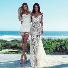 Gorgeous  | Loving these dresses by @nektariaworld from the new collection! #Nektaria #brides_style