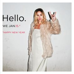 Hello. We Jan.15. HAPPY NEW YEAR!