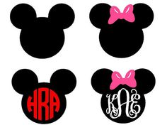 This Mouse Ears template is an instant DIGITAL DOWNLOAD file to be cut out with an electronic cutting machine that accepts one of the following file