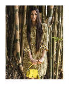 #Summer #Dress #AdolfoDominguez #Coach #yellow #Tendencias #Moda #Fashion