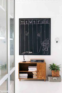 Mustavalkoinen sisustus - viihtyisä ja selkeä koti | Kotivinkki