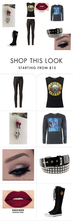 guns 'n roses by emo-to-the-extremo on Polyvore featuring Miss Selfridge, rag & bone, Topman, Smashbox and gunsnroses