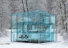 World's Best Glass Houses | Ultra Minimal Glass House