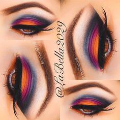 labella2029 feel the colors #gojane #makeup #color #eye