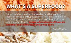 "When I tell people I am a superfood hunter, ""What is a superfood?"" is always the first question I get. You should know that all real, whole, organic traditional food is — to some degree — a superfood. No, I'm not undermining all my travels all around the world searching for superfoods. Real, whole, organic traditional food …"