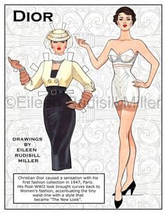 Dior Paper Doll (1 of 5)