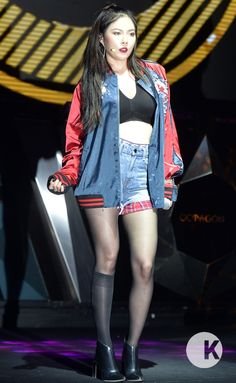 "Request: 4minute Hyuna's ""Hate"" Jacket"