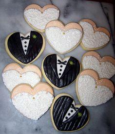 wedding cookies :-)