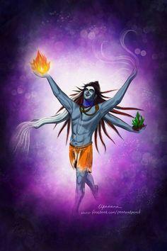 What is history to someone is Mythology to another. Shiva Art, Shiva Shakti, Ganesh, Angry Lord Shiva, Hara Hara, Kali Hindu, Lord Shiva Painting, Om Namah Shivay, Lord Of The Dance