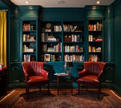 Beautiful and bold bookcase