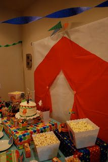 bachmanville: a circus baby shower