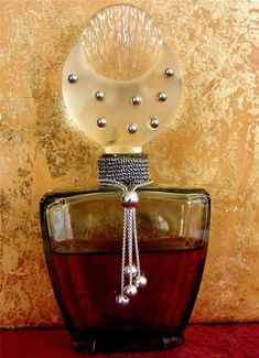 Vintage Cher Uninhibited Perfume Glass Perfume Bottle | eBay: