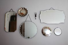 Vintage mirrors <3
