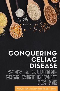 The doctor said the solution was simple - just go gluten-free! But that didn't help me. Here's why. #glutenfreediet #celiacdiseasediet #celiacdiseasediagnosis #celiacdiseaseawareness Celiac Disease Treatment, What Is Celiac Disease, Celiac Disease Diagnosis, Autoimmune Disease Awareness, Celiac Disease In Children, Chronic Disease Management, Gluten Free Diet, Gut Health, Healthy Habits