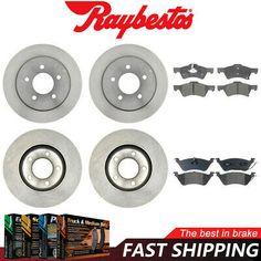 Fits: 2004 Mazda 3 2.3 Engine Rotors w//Ceramic Pads OE Brakes Rear