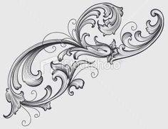 Filigree design