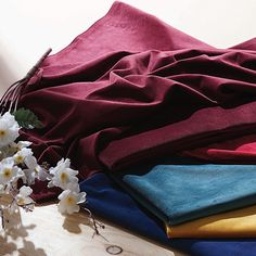 We proudly provides up to 5 free fabric swatches with free shipping to assist with any questions of color, sheen, or texture so you can see how the fabric looks in your home next to your paint and furniture. #HPD #HalfPriceDrapes #Curtains #Drapes #Free #Fabric #Swatches #InteriorDesign #Linen #Cotton #Velvet #Sheer #Silk #Blackout #HomeDesign #TrendAlert Free Fabric Samples, Free Fabric Swatches, Custom Curtains, Half Price, Cotton Velvet, Texture, Paint, Free Shipping, Silk